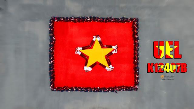 xếp hình chụp ảnh kỷ yếu tại Sài Gòn