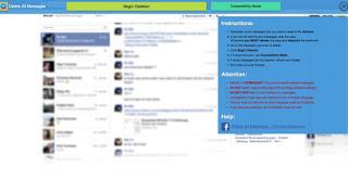 Cara Menghapus Pesan FB Sekaligus