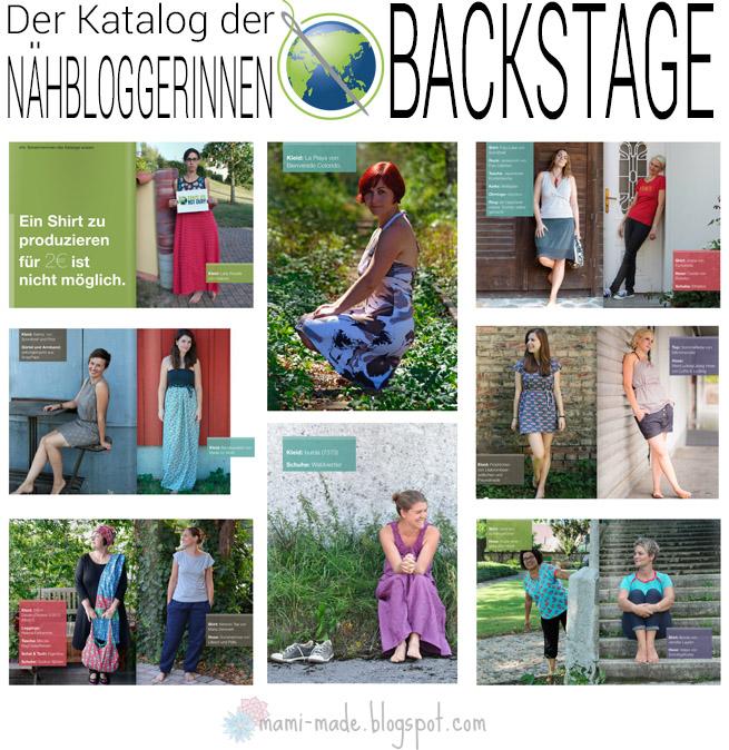 """Der Katalog """"Backstage"""""""