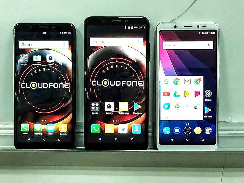 CloudFone to Launch Several Phones with 18:9 Display this Q4 2017