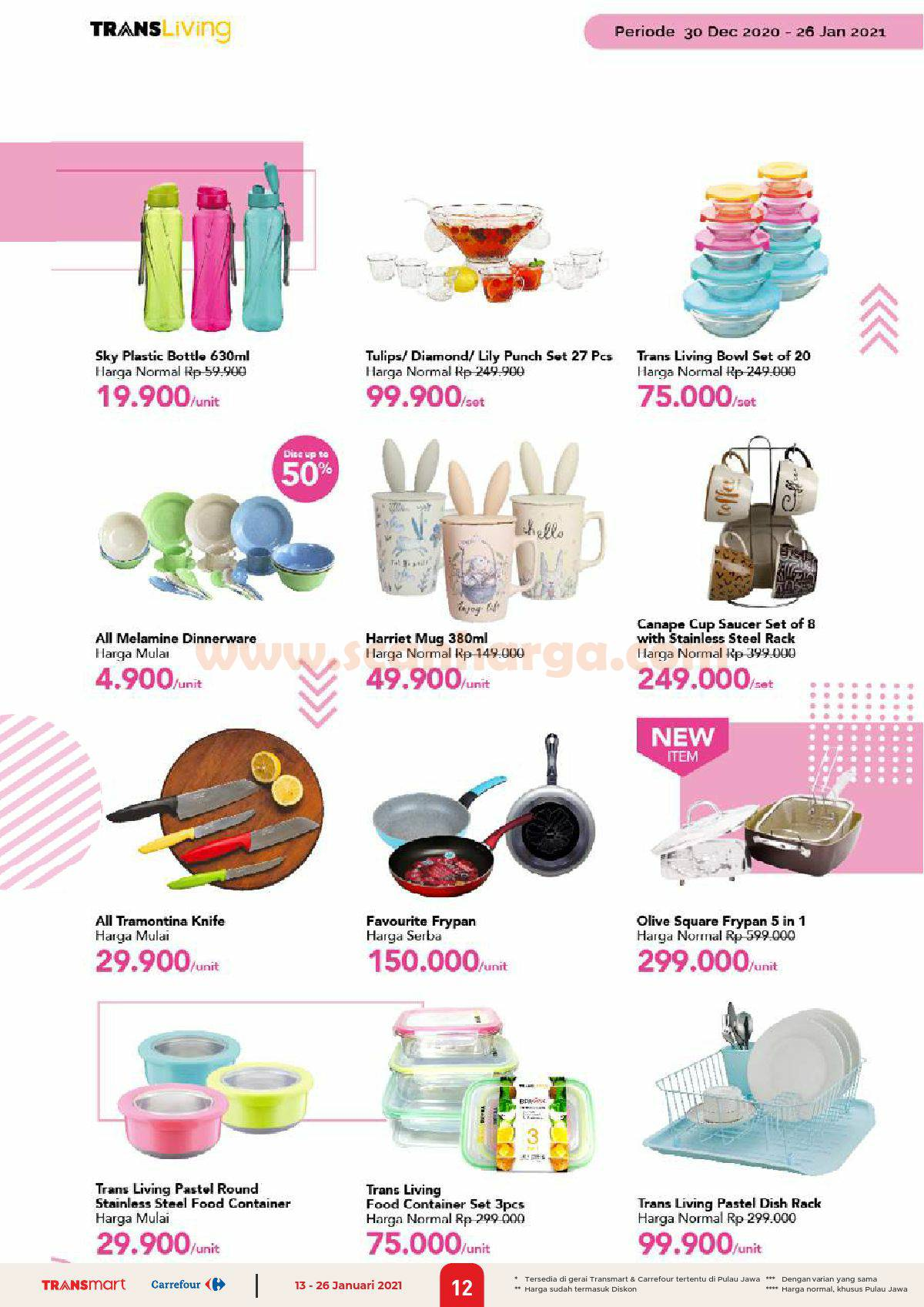 Katalog Promo Carrefour Transmart 13 - 26 Januari 2021 12