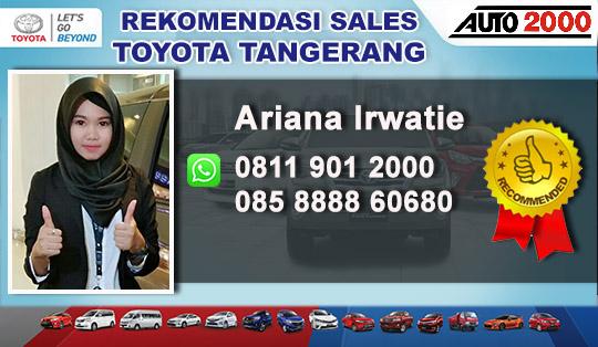 Rekomendasi Sales Toyota Cikokol Tangcity Tangerang City