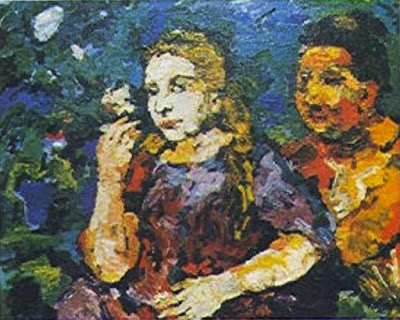 Oskar Kokoschka: Žena a otrok