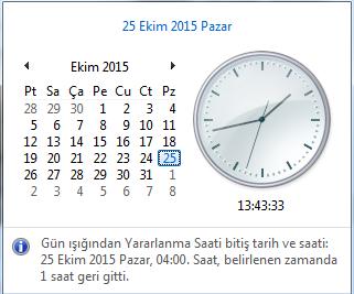 Telefondaki Saati Manuel ve Otomatik Ayarlama 2015 Kış Saati Uygulaması