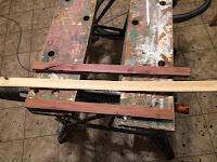 Cedar and birch strips