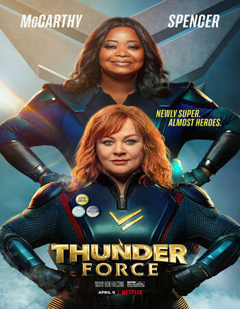 Thunder Force (2021) Dual Audio Hindi Full movie ORG 720p WEB-DL 950MB ESubs Download