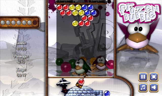 Frozen Bubble - game online