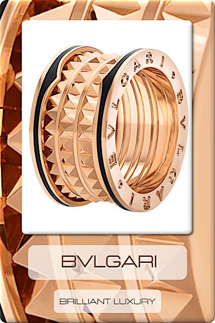 ♦Bvlgari B.Zero1 Ring Collection #jewelry #bvlgari #bzero1 #brilliantluxury