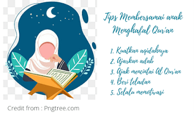 Tips agar anak menghafal qur'an