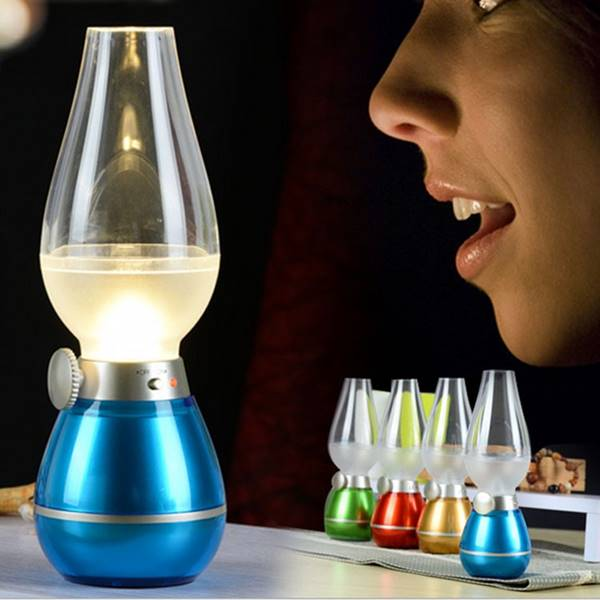 Lampu Nakas Tiup Kerosene untuk Kamar Tidur Dekoratif