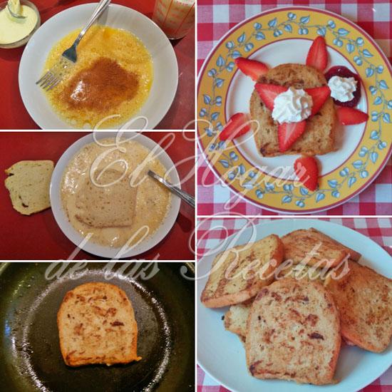 Torrijas a la Plancha, French Toast o Tostadas Francesas