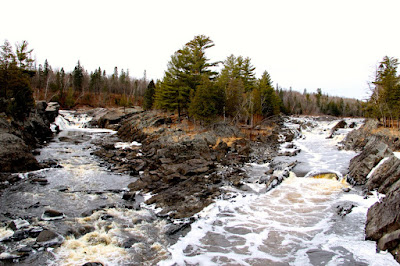 The St. Louis River, between PolyMet and Lake Superior