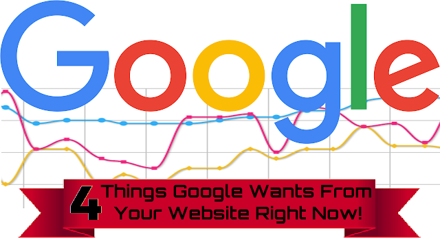 what google wants from websites
