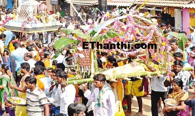 வலங்கைமான் மகாமாரியம்மன் கோயிலில் கும்பாபிஷேகம் - பணிகள் தீவிரம் !