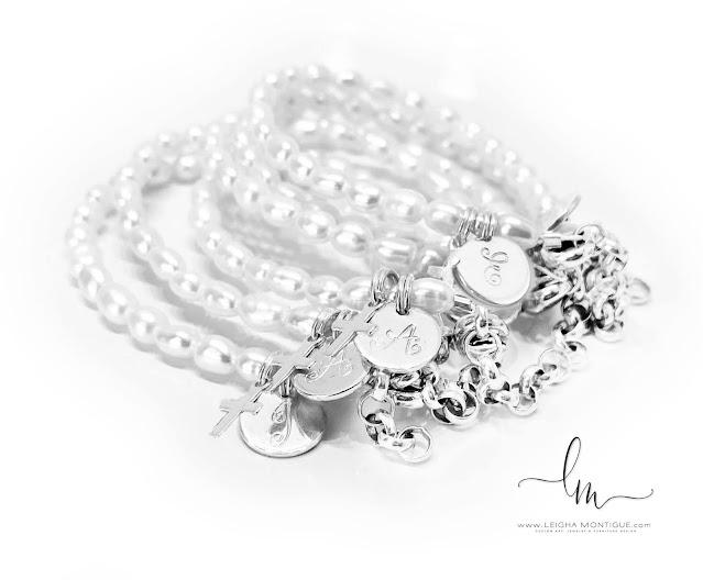 Pearl First Communion Bracelets for Little Girls
