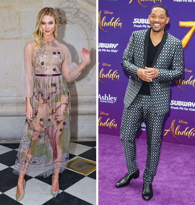 Karlie Kloss e Will Smith: 1,88 m