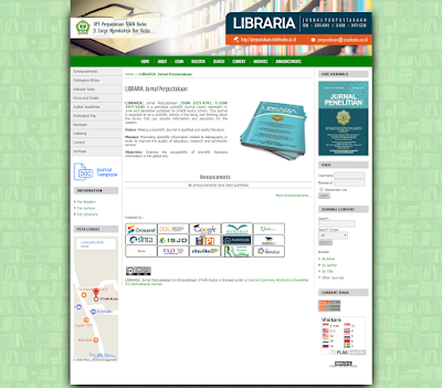 Jurnal  LIBRARIA