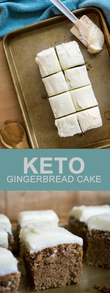 Recipe GINGERBREAD CAKE #cakes
