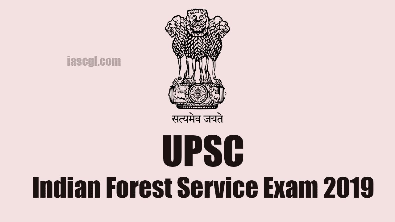 UPSC IFS 2019
