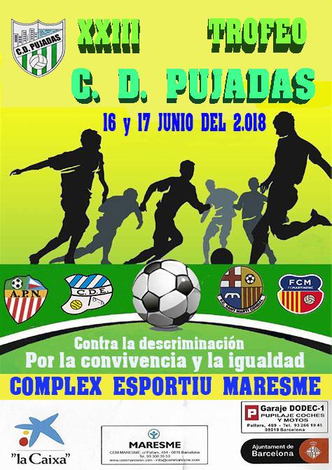 Torneo C.D.Pujadas 2017 - 2018