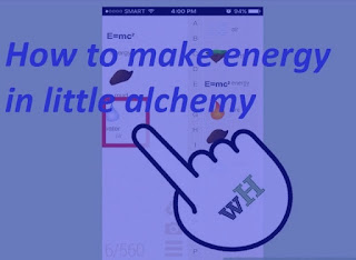 How to Make Energy in Little Alchemy