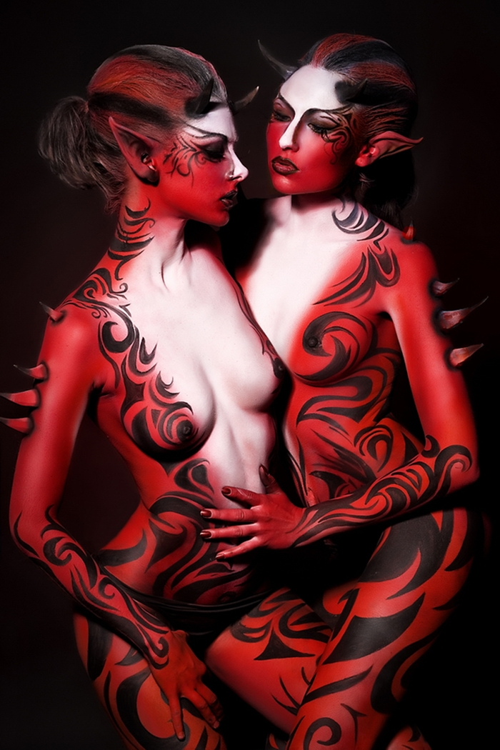 Valery Star 1986 | Ukrainian Body Painting and fashion painter