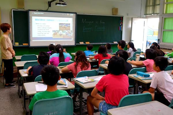 彰化南興國小國際教育視訊交流 柯伯儒:拓展國際視野