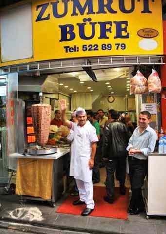 أسماء مطاعم شاورما في تركيا