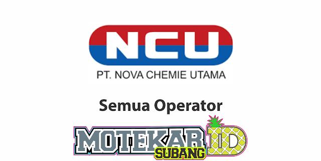Lowongan Kerja PT Nova Chemie Utama Juli 2020 - Motekar Subang  PT Nova Chemie Utama ialah industri manufaktur Indonesia yang bergerak dalam bidang farmasi, paling utama buat pembuatan produk kapsul softgel.