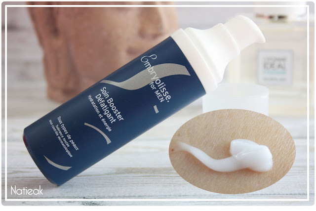 aspect Booster défatigant d'Embryolisse men
