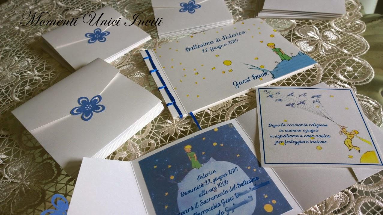 10a Inviti e GuestBook per il Battesimo del piccolo FedericoBattesimo
