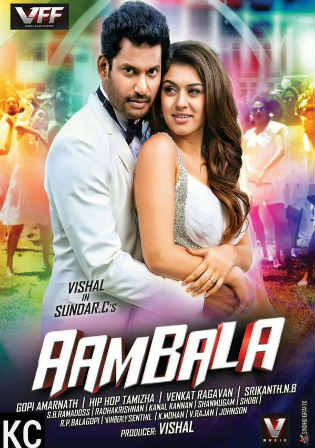 Aambala 2015 HDRip 450MB UNCUT Hindi Dual Audio 480p Watch Online Full Movie Download bolly4u