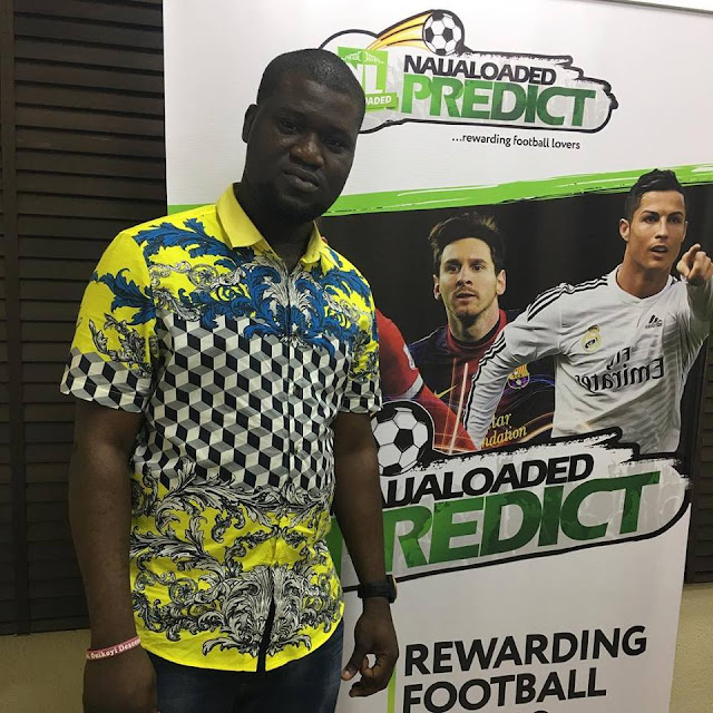 Popular Blogger Makinde Azeez Introduces Naijaloaded Prediction To Reward Football Lovers