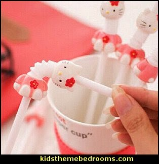 Hello Kitty straws-Cartoon Drink Straw for Children Kids birthday party