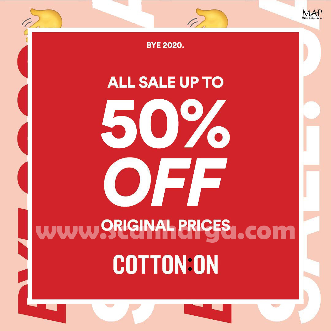 COTTON ON End of Season Sale up to 50% Off Original Prices
