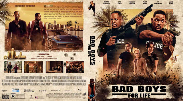 Bad Boys for Life Bluray Cover
