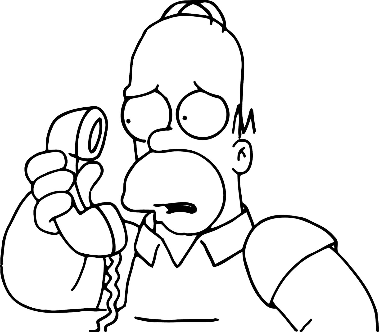 P 225 Ginas Para Colorear Originales Original Coloring Pages The Simpsons On Halloween