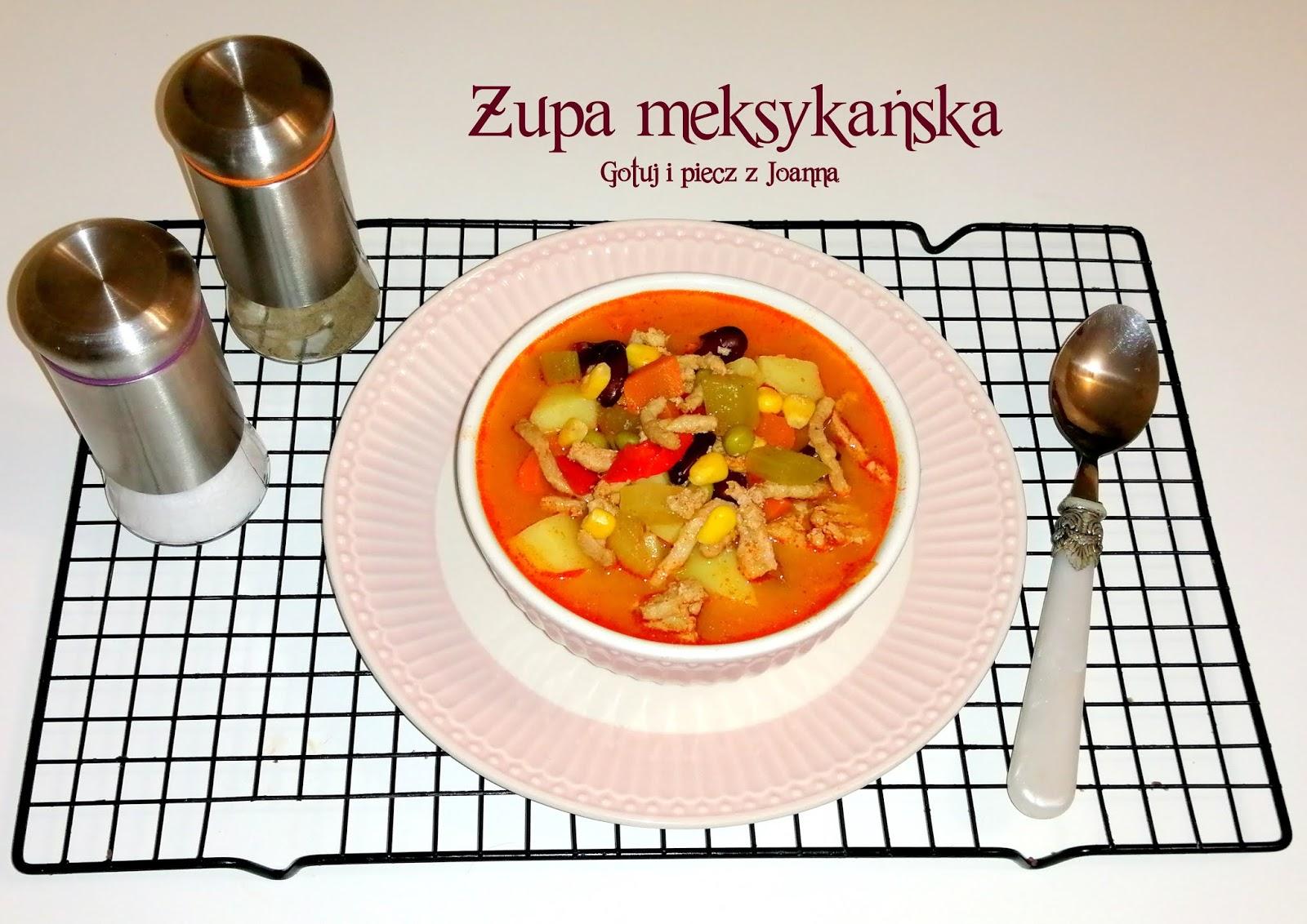 Zupa meksykańska