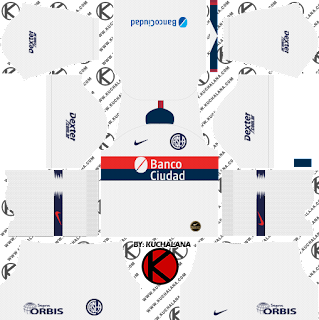 San Lorenzo 2019/2020 Kit - Dream League Soccer Kits