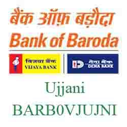 Vijaya Baroda Bank Ujjani Branch New IFSC, MICR