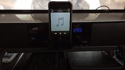 iPodを再生