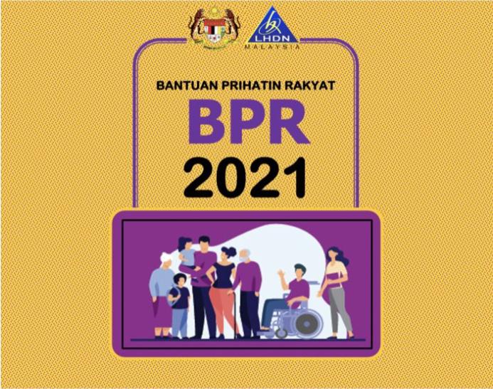 BPR 2021: Kemaskini & Permohonan Baharu Bantuan Prihatin Rakyat Kini di Buka