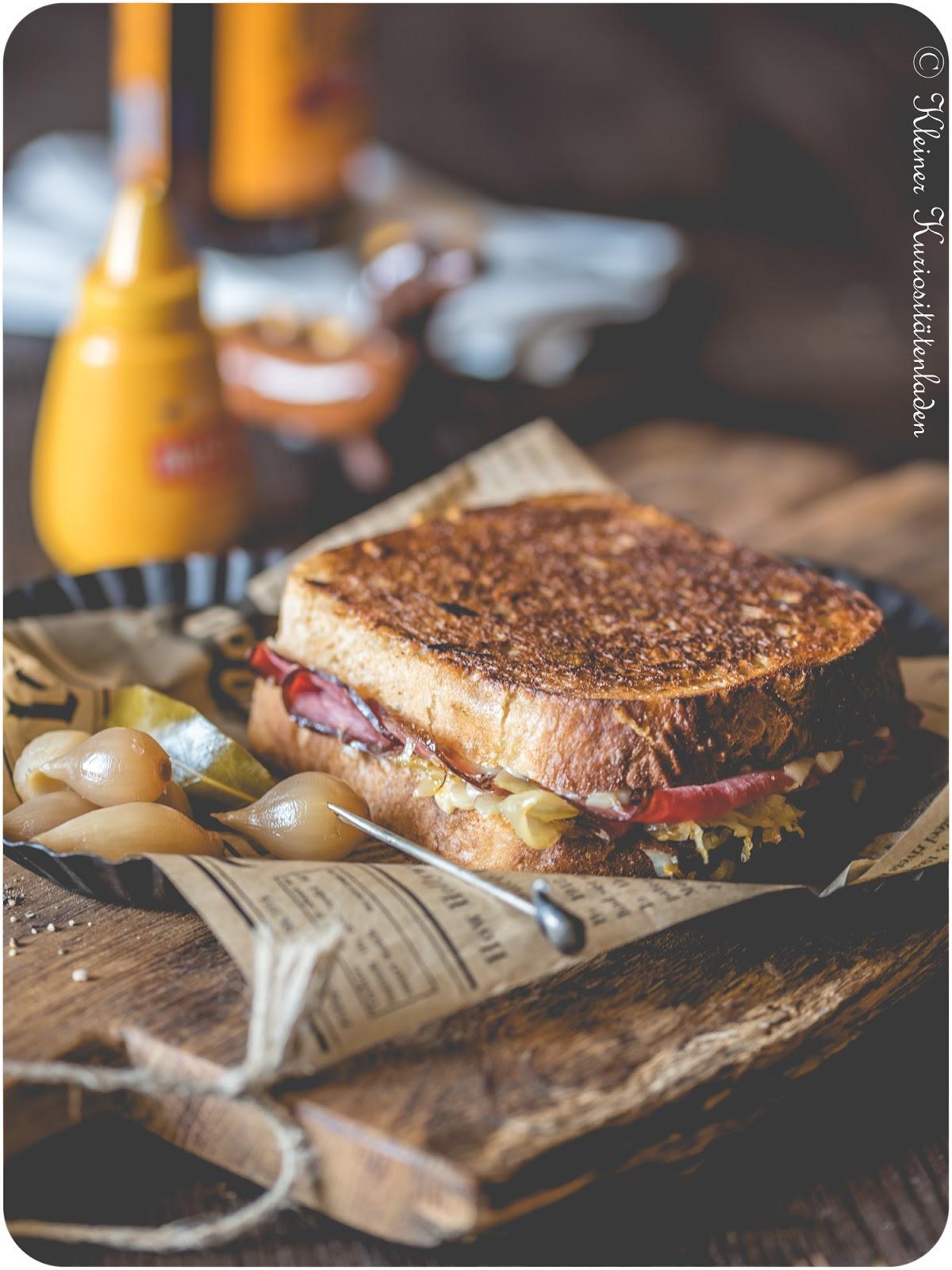 Pastrami on Rye, Reuben Sandwich - von Allem ein bisschen