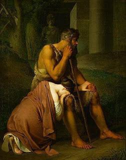 Αποτέλεσμα εικόνας για Ο θάνατος της Αντιγόνης και η συντριβή του Κρέοντα