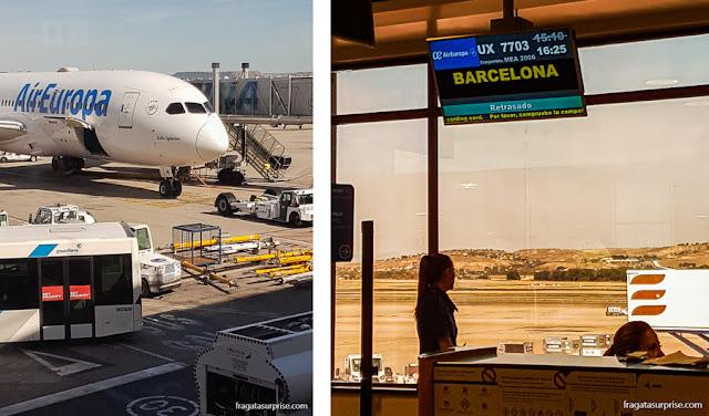 Voo para Barcelona