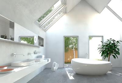Best Natural Lighting for bathroom
