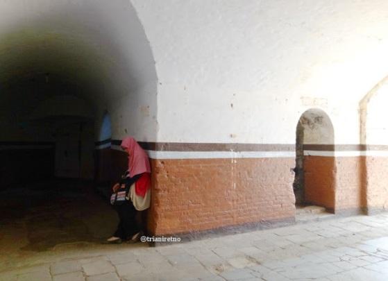 Ruangan di Benteng Van der Wijck Kebumen