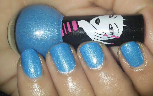 ELLE 18 COLOR POP SWATCH REVIEW AND NAILART