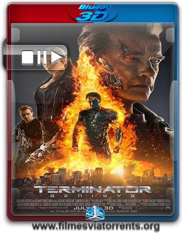 O Exterminador do Futuro: Gênesis Torrent - BluRay Rip 1080p 3D HSBS Legendado (2015)