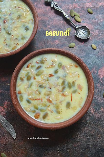 Basundi Recie | How to prepare Basundi | No Condensed Milk Basundi